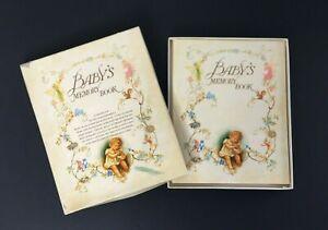 VTG Philomel Books Babys Memory Book Pop Ups Antique Look NOS Original Box 1985