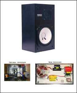 Yamaha NS-10M NS10 crossovers -speakers monitors - quality crossovers -upgrade