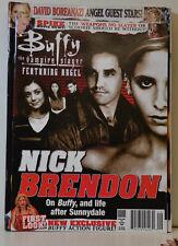 Buffy rivista RIVISTA # 26 Aug Sept 2006-Nick Brendon (zB 117)