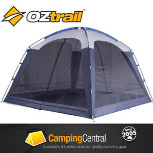 OZTRAIL SCREEN DOME (WITH FLOOR) SCREENHOUSE TENT SCREENDOME NET MESH