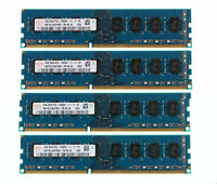 New 16GB 4X 4GB 1600MHz PC3-12800 DDR3 240Pin CL11 DIMM SDRAM Low Density Memory
