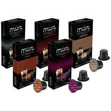 50 X Nespresso Compatible Pods capsules variety selection (5 Different Blends)