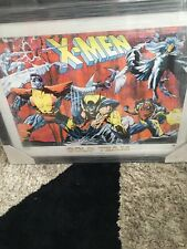 More details for marvel large framed picture by joe quesada new and sealed.