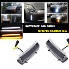 Direct Fit 2006-09 Nissan 350Z Switchback LED Daytime Running/Turn Signal Lights