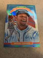 Miguel Cabrera 2020 Donruss Optic Diamond Kings Carolina Blue & White