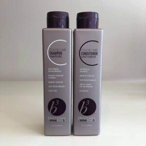Brazilian Blowout b3 BondBuilder Color Care Shampoo Conditioner Duo 12 oz each