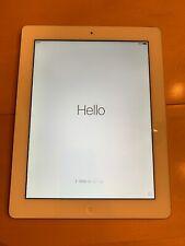 Apple iPad 3rd Gen. 32GB, Wi-Fi, 9.7in - White MD329LL/A A1416, Wi-Fi, camera