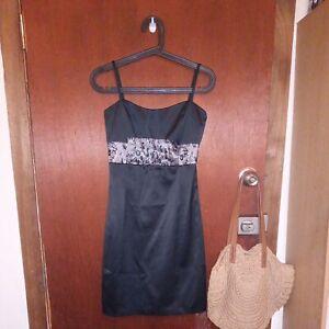 Martini Women's Party Black Dress Size 8