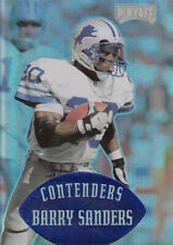 1997 Playoff Contenders Blue Detroit Lions Football Card #49 Barry Sanders