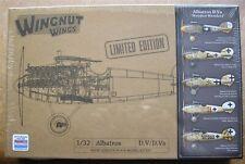 """Wingnut Wings 1/32 Albatros D.V - D.Va """"Wooden Wonders"""" Limited Edition Kit"""
