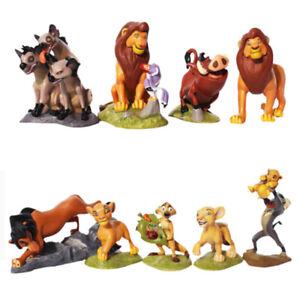 The Lion King Pumbaa Nala Timon 9 PCS Action Figure Kids Toy Gift Cake Topper