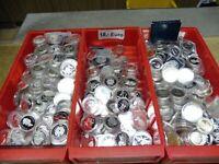 1 KG Silber Münzen , verschiedene Länder meist PP in Kapseln , Investment Lot
