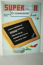 RIVISTA SUPER COMMODORE ANNO 2 NUMERO 8 SETTEMBRE 1985 USATA ED ITA FR1 54756