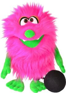 Living Puppets Monster To Go Muksch- 13 13/16in + With Paper Bag