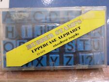 Uppercase alphabet set  RUBBER STAMP 3f
