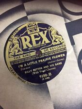 """Billy Cotton and Band I'm a Little Prairie Flower/The best of Friends 10"""" 78"""""""