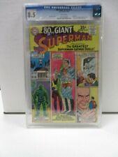 80 Page Giant Superman #11 CGC Universal Grade 8.5