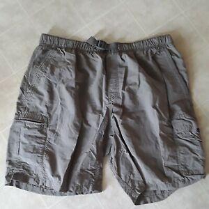 Columbia Packable Tan Nylon Hiking Fishing Casual Shorts Mesh Lined 38W 9