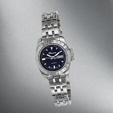 Rousseau Ladies Stainless Steel Bracelet/Blue Dial