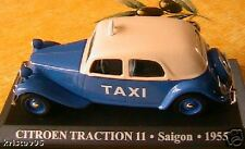 CITROEN TRACTION 11 TAXI SAIGON VIETNAM 1955 1/43 BLEU