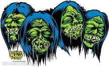 Shrunken Heads Sticker Decal Art Dirty Donny DD12