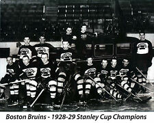 Boston Bruins 1928-29, 8x10 Championship Team Photo
