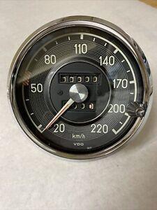 Rebuilt Speedometer Gauge 220 Kmh Mercedes W111 W113