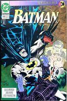 BATMAN #496 NM KNIGHTFALL Part 9 THE JOKER SCARECROW ROBIN BANE DC Comics 1993