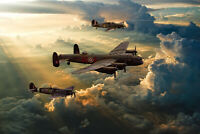 BBMF , Lancaster,  Spitfire,  Hurricane,  canvas various sizes free delivery