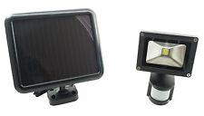 Kit pannello solare led a lampade solari e fiaccole da esterno