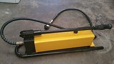 Hydraulic hand pump porta pack  machinery movers fitter 3000cc 2 speed Ram