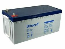 Batteria ULTRACELL - AGM GEL - UCG200 - 12V / 200 Ah - a lunga durata
