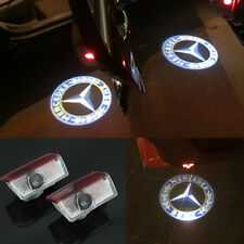 2x Logo LED Door Courtesy Laser Light for Mercedes-Benz E-Class A-Class B-Class