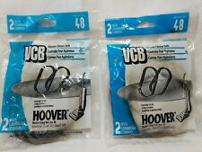 Vacuum Cleaner Belts Hoover Belt Type 48 New Lot of 4 Belts