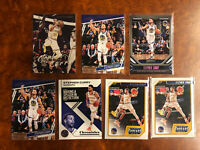 Steph Curry 2019-20 Panini Chronicles Lot Pink SP Warriors MVP