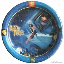 Harry Potter Party PLATES LUNCH 8 PC Birthday Decoration Car Chamber of Secrets