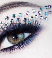 Face Gems Stick on 3D Jewels Festival Body Glitter Crystals Rhinestones Eye