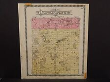 North Dakota Bottineau County Map Homen Township  1910 Q6#46