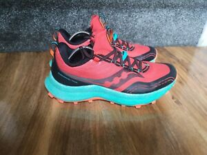 Saucony Endorphin Trail mens running shoes, size 8.5 UK GREAT S20647-20