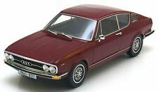 Audi 100 S Coupe 1971 - Dark Red  1:18 scale Resin