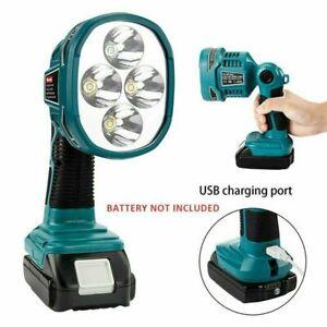 LED Taschenlampe/Strahler, Licht Körper Nur Für Makita 14.4-18V Li-ion Akku