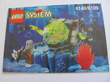LEGO 6140 @@ NOTICE / INSTRUCTIONS BOOKLET / BAUANLEITUNG