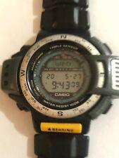 Casio Watch Triple Sensor 1170 ATC-1200 Working