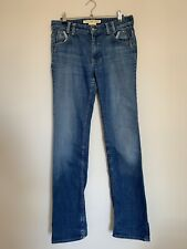 French connection denim bootcut jeans size 10 stretch fit