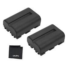 2x NP-FM500H battery + Bonus for Sony Alpha DSLR A200 A450 A300 A300K A300X