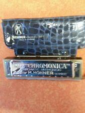 M. Hohner Chromonica 260 Key of C Chromatic Harmonica - Made in Germany