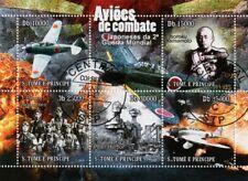 Hoja De Sellos Aviones japonés IJN (aviación de combate en la Segunda Guerra Mundial/Pearl Harbor)