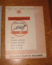 * manuel ciclomotori DICK DICK moteur DEMM cyclosport 1961 en italien