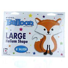 Woodland Fox Jumbo Foil Balloon