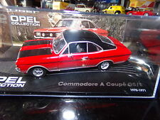 macchina in miniatura 1/43 IXO OPEL COMMODORE coupé GS/(E) 70-71